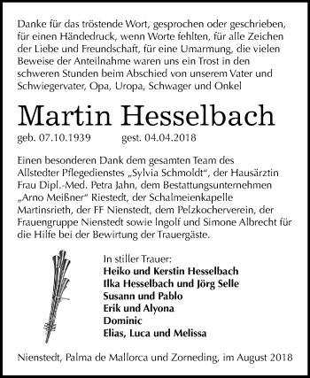 Traueranzeige Mitteldeutsche Zeitung