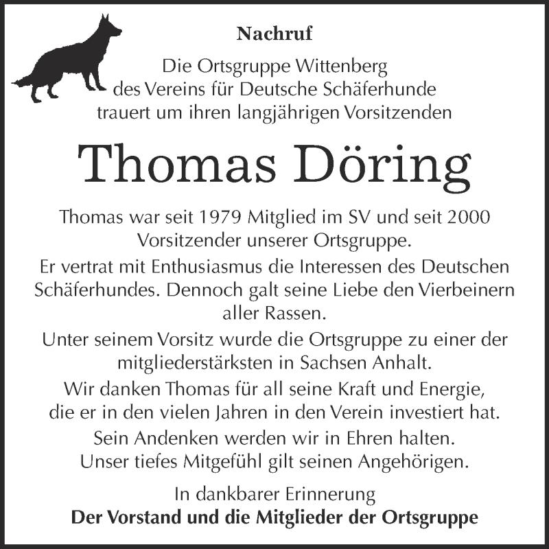 Super Sonntag Wittenberg : traueranzeigen von thomas d ring ~ Watch28wear.com Haus und Dekorationen