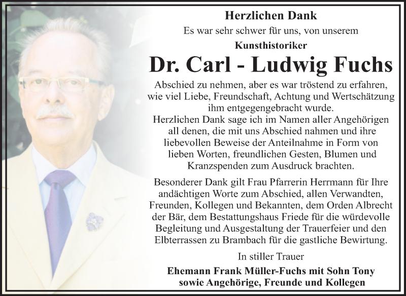 Carl Ludwig Fuchs Lebenspartner