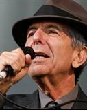Portrait von Leonard Cohen