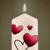Kerze für Mutti für